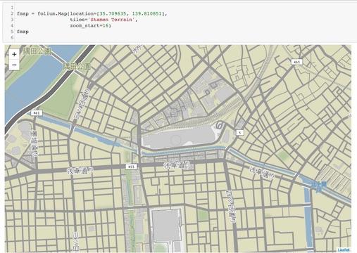 Python 地圖視覺化- 使用Folium - Xeno Universe